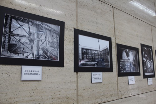 0121:中京郵便局 壁面博物館②
