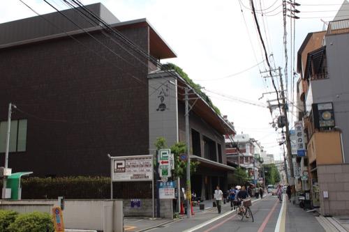 0122:京都八百一本館 東洞院通の北側から