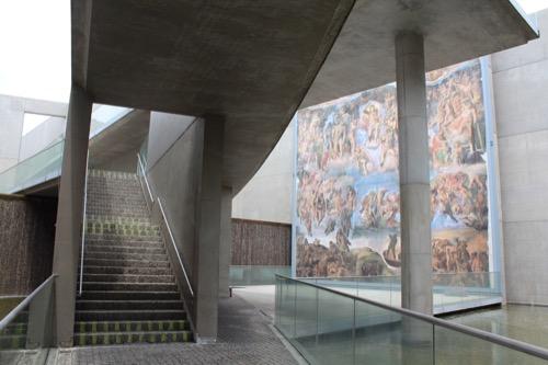 0123:京都府立陶板名画の庭 地下2階