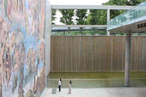 0123:京都府立陶板名画の庭 地下1階フロア②