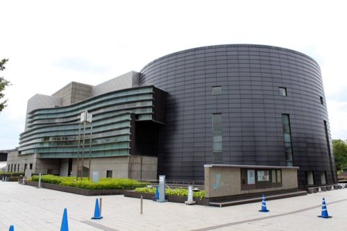 0125:京都コンサートホール 外観全体
