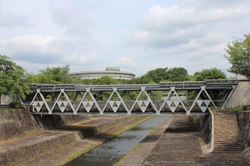 0126:国立京都国際会館 会議場棟 裏手の外観③