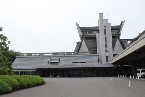 0126:国立京都国際会館 本館正面②