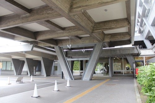 0126:国立京都国際会館 本館東玄関付近①