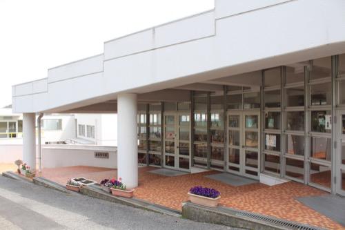 0127:直島幼児学園 保育園正門①