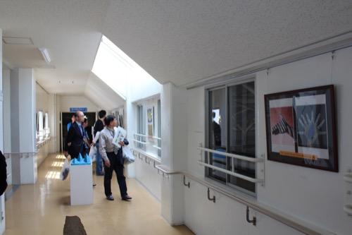 0128:直島小学校 廊下