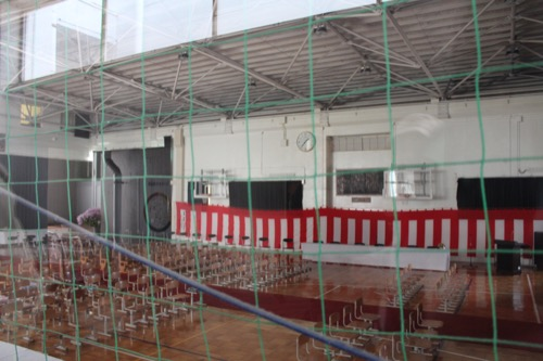 0128:直島小学校 体育館