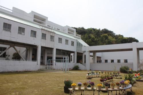 0128:直島小学校 中庭