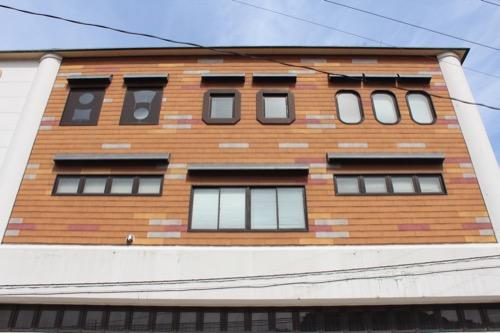 0130:直島町役場 西側外観デザイン
