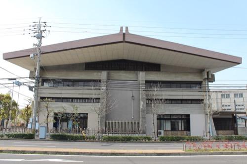 0132:香川県立武道館 北側外観①