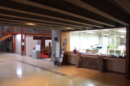 0133:香川県文化会館 事務室窓口付近