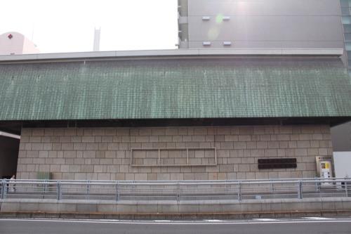 0133:香川県文化会館 県道向かいから撮影したファサード