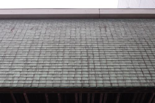 0133:香川県文化会館 特徴的な青銅葺きの屋根