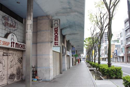 0135:坂出人工土地 西側の商店街アーケード②