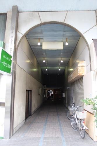 0135:坂出人工土地 西側の商店街アーケード③