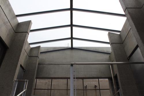 0136:西園寺 納骨堂の階段天井