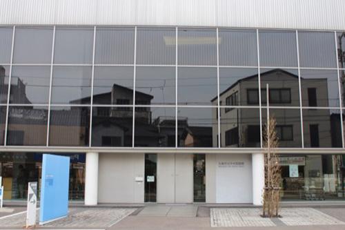0137:丸亀市猪熊弦一郎現代美術館 図書館入口②
