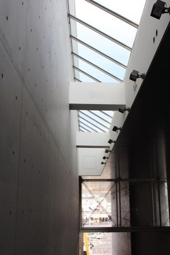 0137:丸亀市猪熊弦一郎現代美術館 天井のトップライト