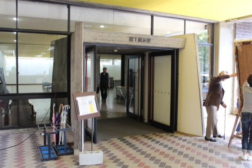 0140:岡山県天神山文化プラザ 入口デザイン