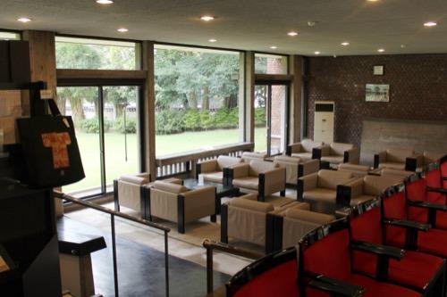 0142:林原美術館 カフェスペース