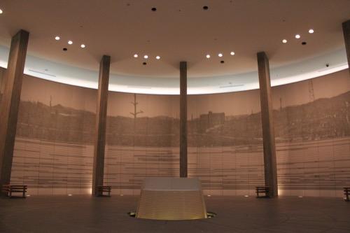 0144:国立広島原爆死没者追悼平和祈念館 追悼空間