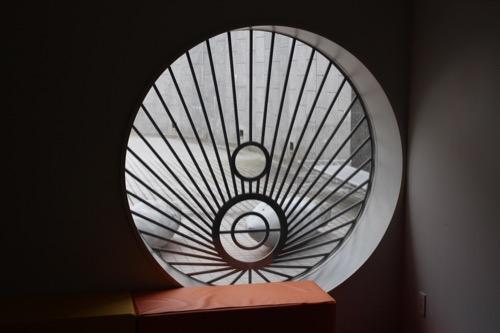 0145:広島市現代美術館 キッズルームの開口デザイン