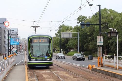0145:広島市現代美術館 路面電車電停