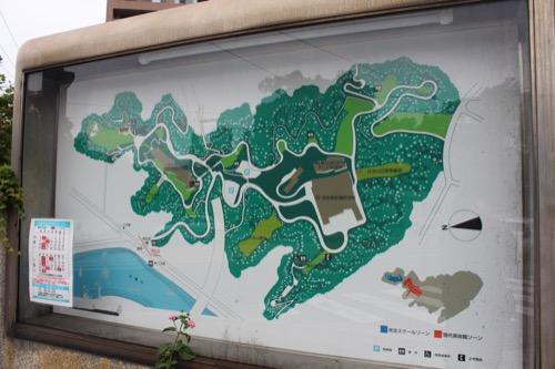 0145:広島市現代美術館 比治山の案内図