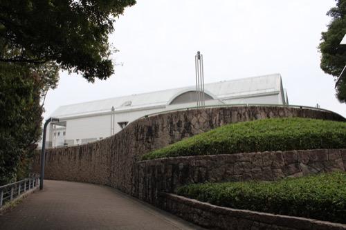 0145:広島市現代美術館 本館を南西側から