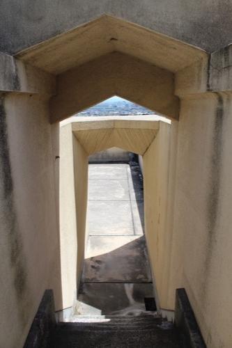 0152:ヨドコウ迎賓館 屋上バルコニーの階段
