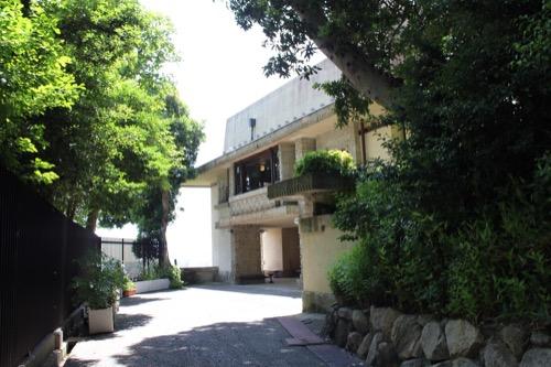 0152:ヨドコウ迎賓館 迎賓館アプローチ側の眺め①