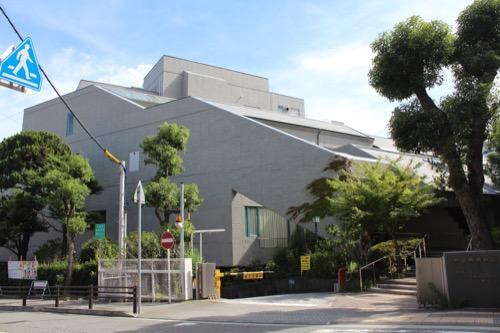 0153:芦屋市民センター 別館外観①