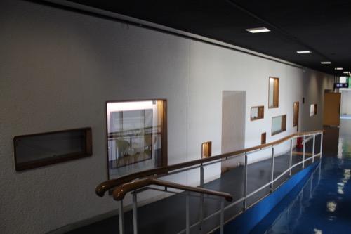 0153:芦屋市民センター 本館EV廊下②