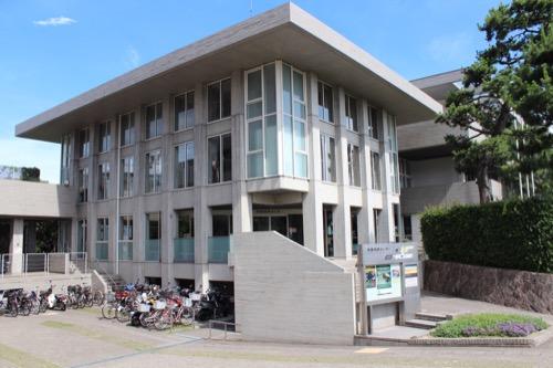 0153:芦屋市民センター 本館入口