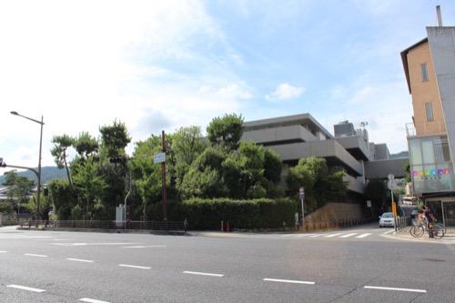 0153:芦屋市民センター 本館を北側から①