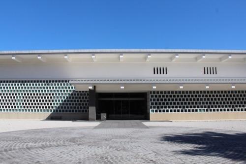 0155:大和文華館 本館外観を正面から①