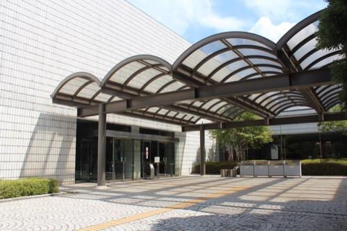 0157:岐阜県美術館 美術館入口