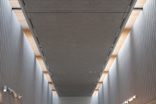 0157:岐阜県美術館 美術館ホール天井①