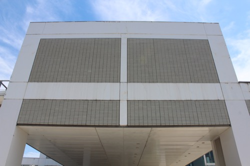 0158:岐阜県図書館 外観全景②