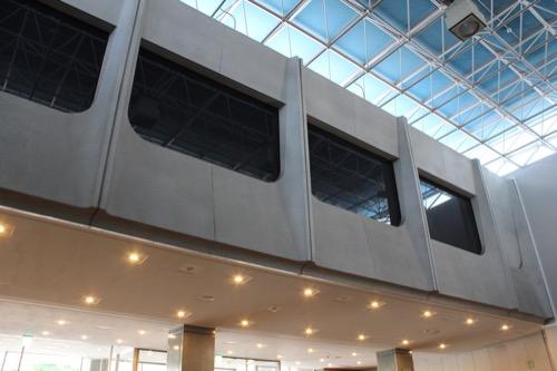 0159:岐阜市民会館 ホールロビー上部分の開口