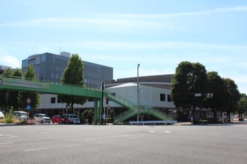 0159:岐阜市民会館 裁判所前交差点より
