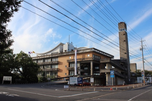 0161:羽島市庁舎 本庁舎南側外観①