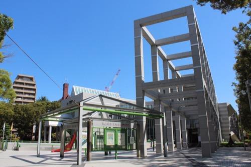 0162:名古屋市美術館 正面外観