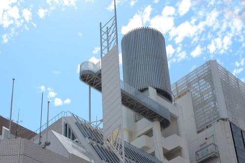 0163:旧大栄ビルヂング 屋上