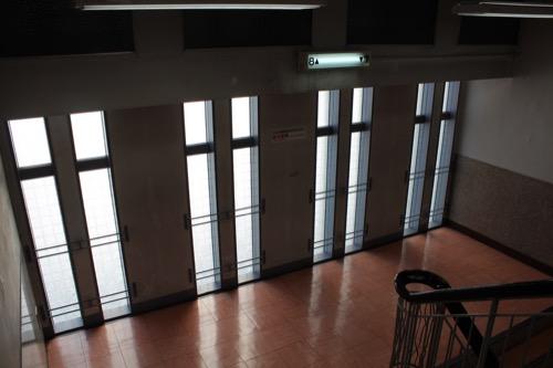 0164:丸栄百貨店 階段部分