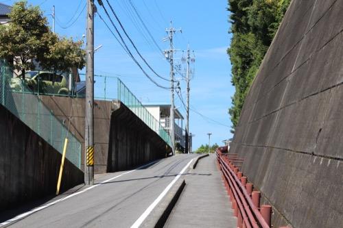 0167:豊田市美術館 美術館への登り坂