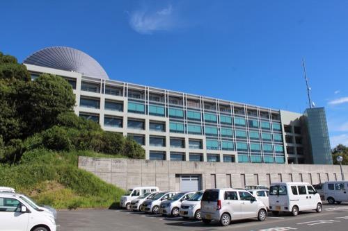 0169:掛川市庁舎 南側外観①