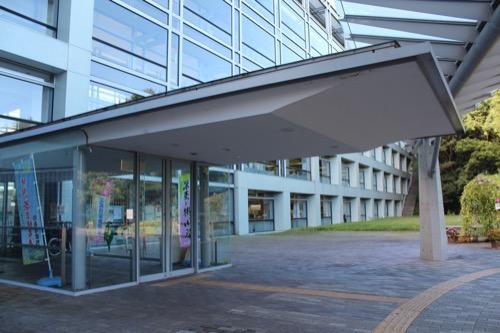 0169:掛川市庁舎 北側手前のキャノピー②
