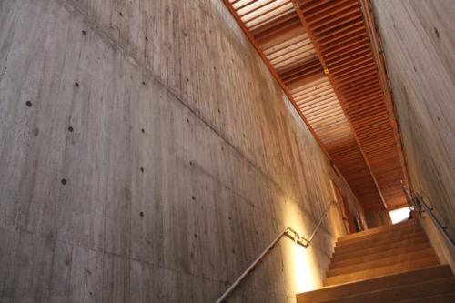 0171:秋野不矩美術館 2階への階段