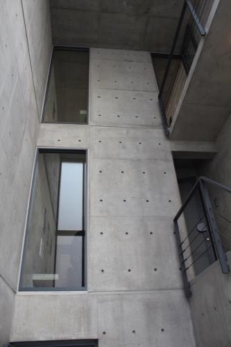 0172:日本橋の家 吹き抜けスペース③